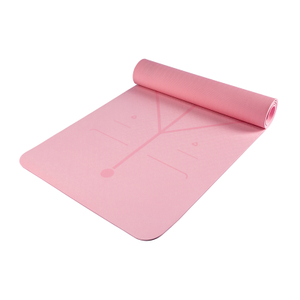 TPE Yoga Mat with Position Line YGMA-TSP