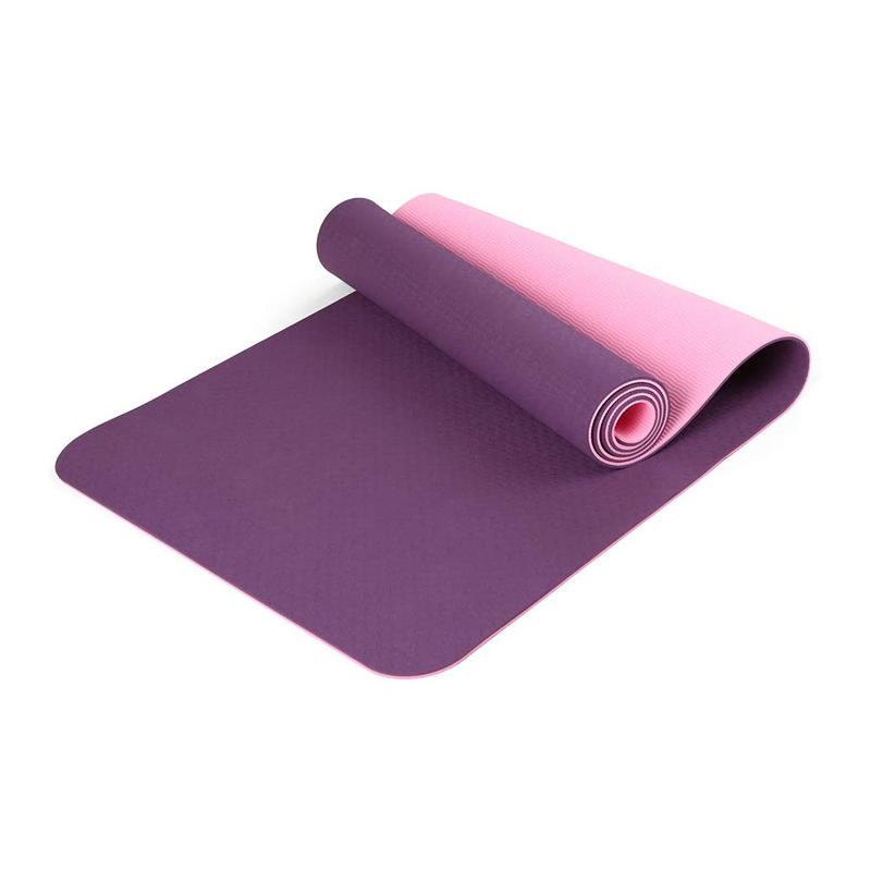 Two-tone TPE Yoga Mat YGMA-TT
